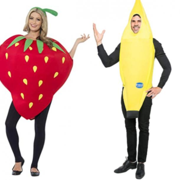 strawberry and banana best friend halloween costumes