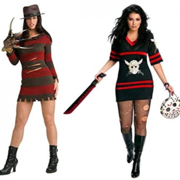 Freddy costume, Jason costume