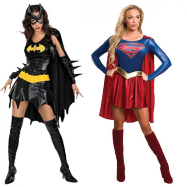 batgirl costume, supergirl costume