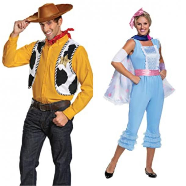 Woody and Bo Peep Toy Story costumes