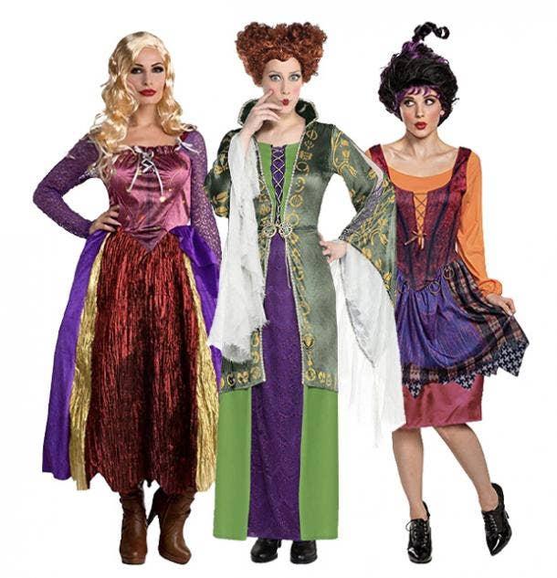 badass halloween costumes for women sanderson sisters hocus pocus