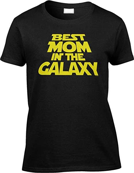 Best Mom in the Galaxy T-Shirt mothers day gift for girlfriend