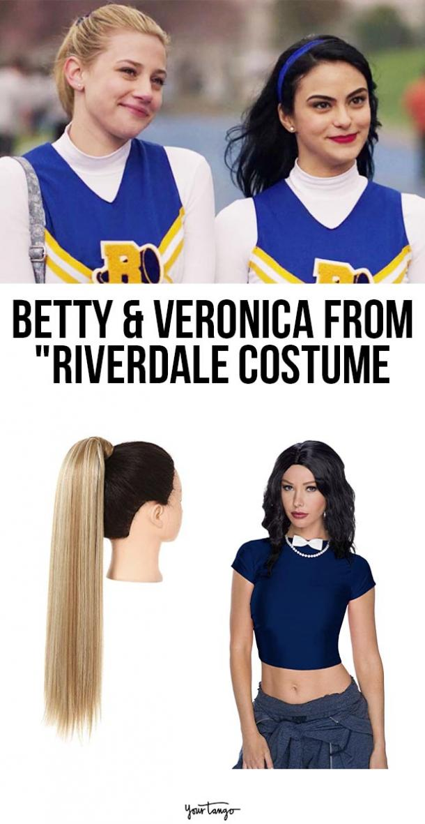 betty and veronica riverdale last minute halloween costumes