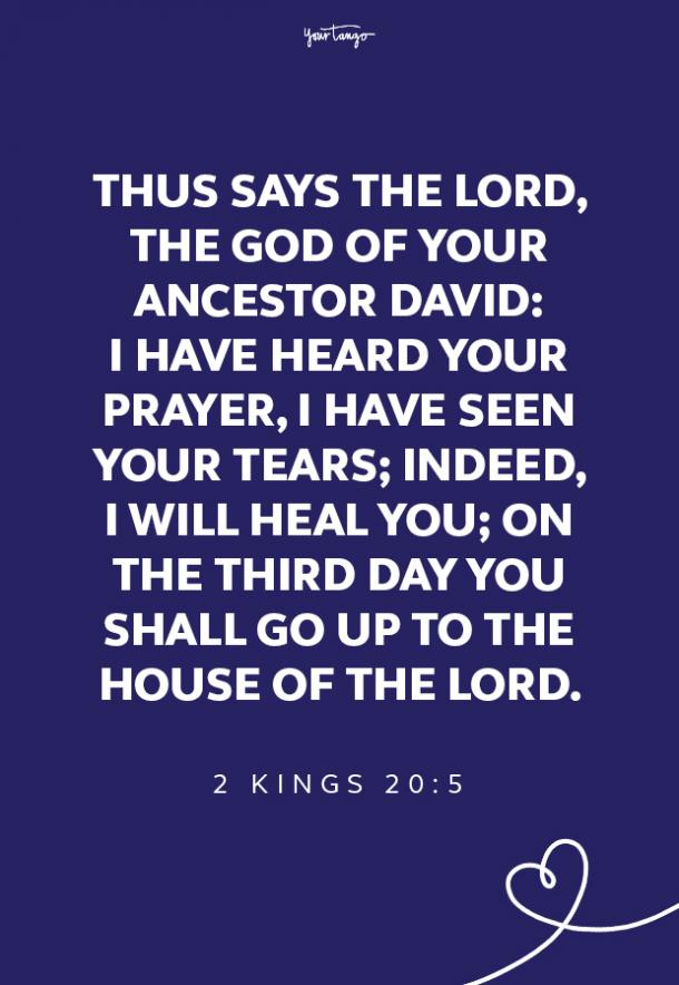 5 healing scriptures