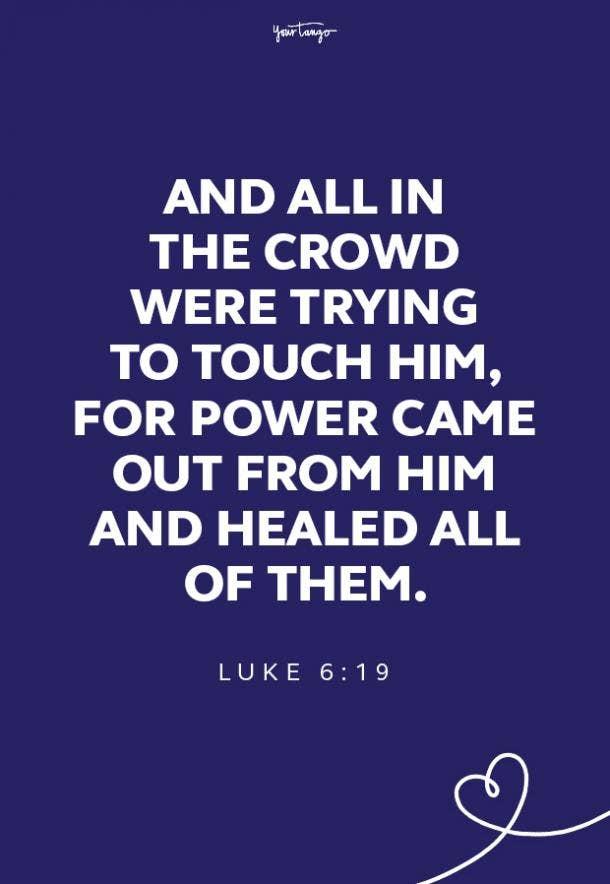 19 healing scriptures