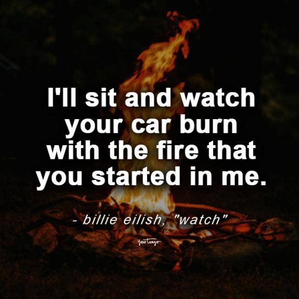billie eilish quotes watch