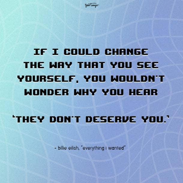 billie eilish quotes everything I wanted