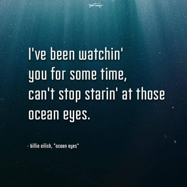 billie eilish quotes ocean eyes