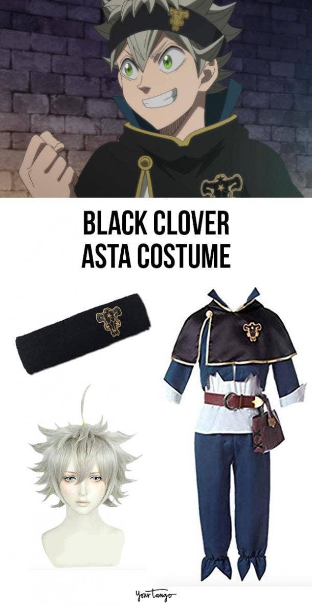 Asta Magic Knight Black Clover Halloween Costume