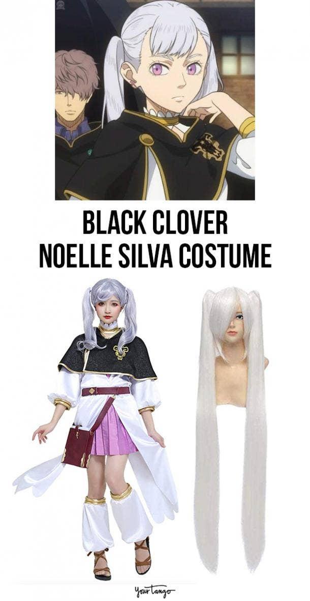 Noelle Silva Noblewoman Black Clover Halloween Costume
