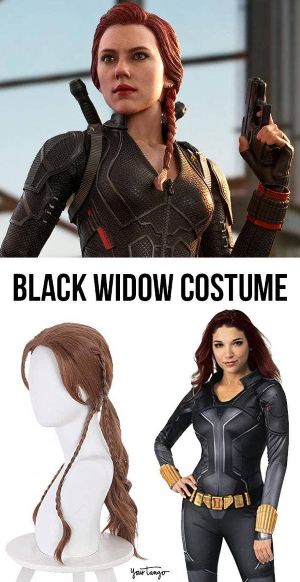 """Natasha Romanoff Black & White """"Black Widow"""" Costumes"""