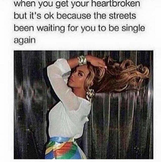 breakup meme