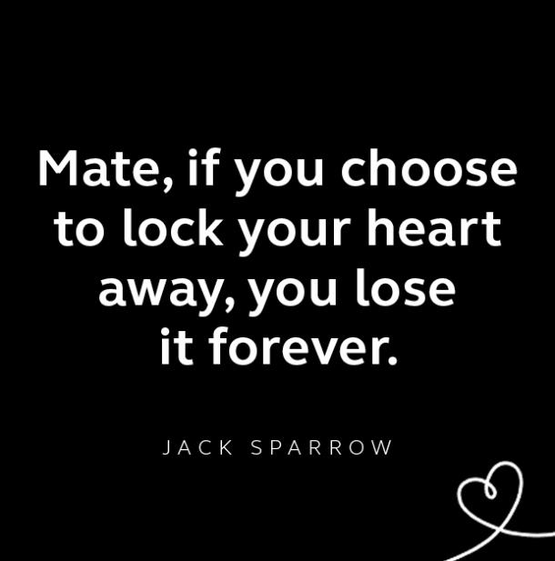 Jack Sparrow breakup quote