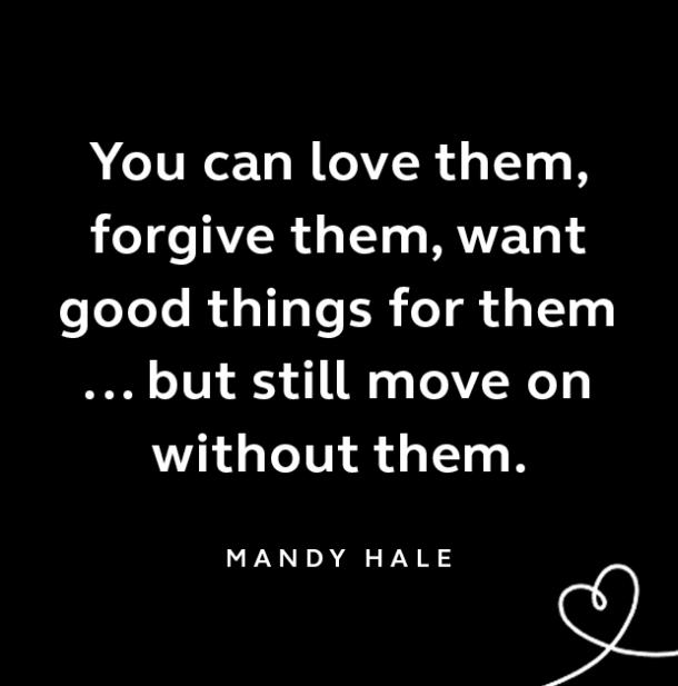 Mandy Hale breakup quote