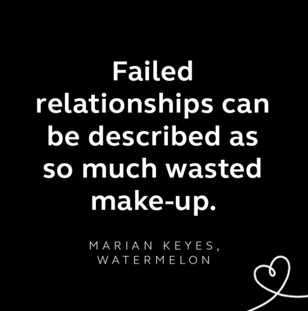 Marian Keyes breakup quote