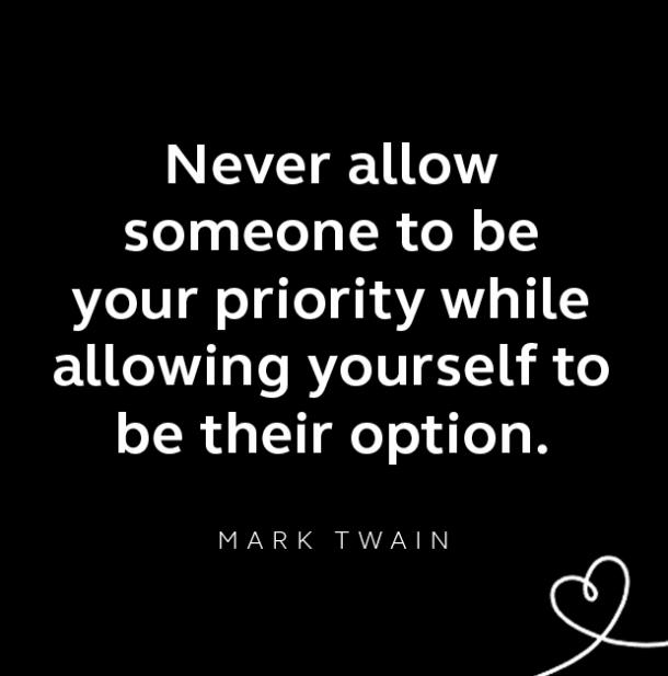 Mark Twain breakup quote