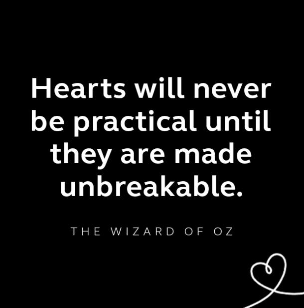 The Wizard of Oz breakup quote