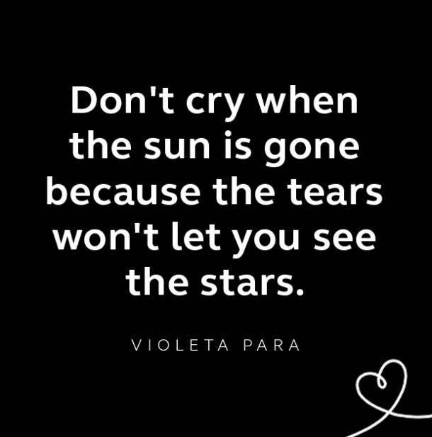 Violeta Para breakup quote