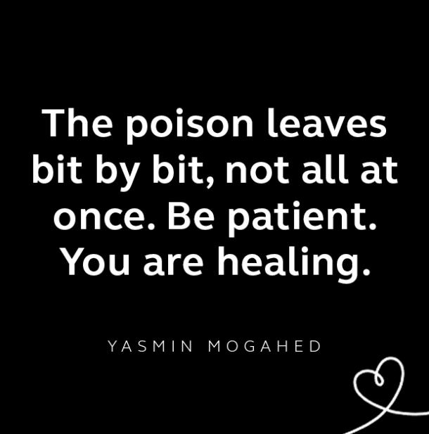 Yasmin Mogahed breakup quote