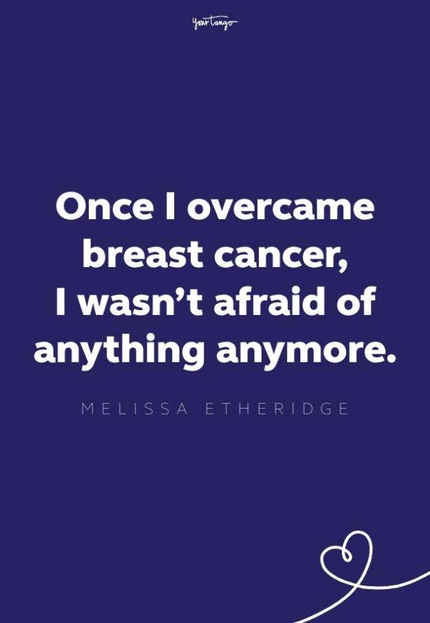 melissa etheridge breast cancer quote