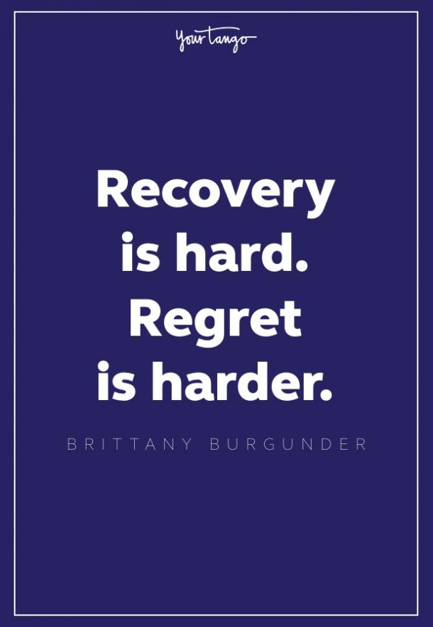 brittany burgunder recovery quote