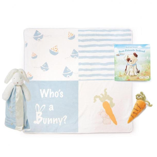Bunnies By The Bay Hello Baby, Boy! Gift Set