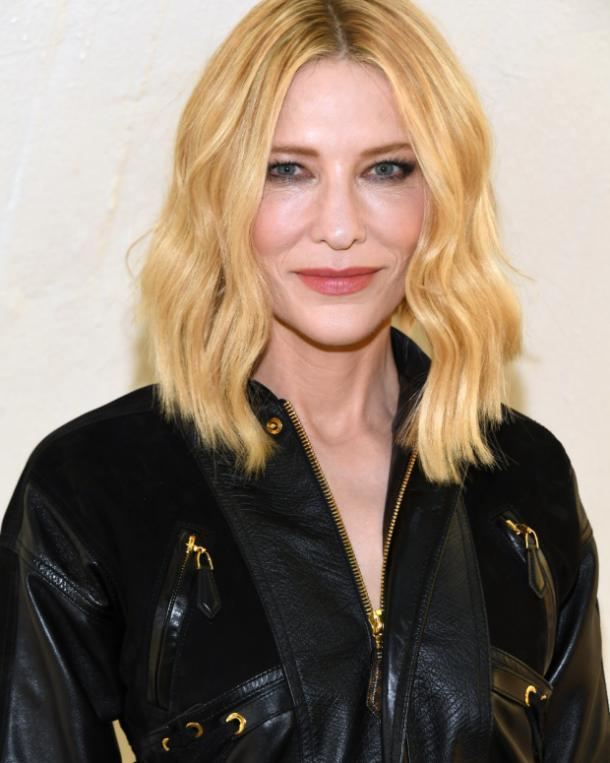 Cate Blanchette heart shaped face