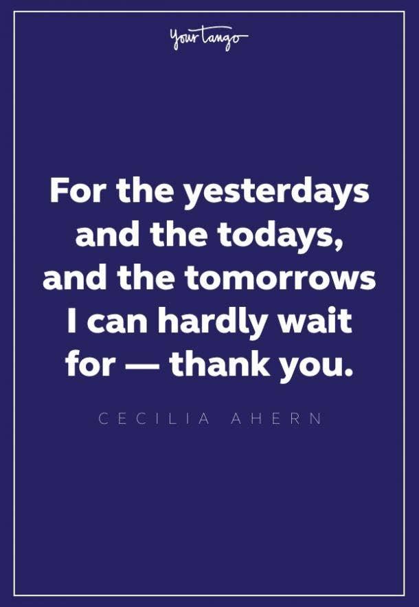 Cecelia Ahern thankful quotes