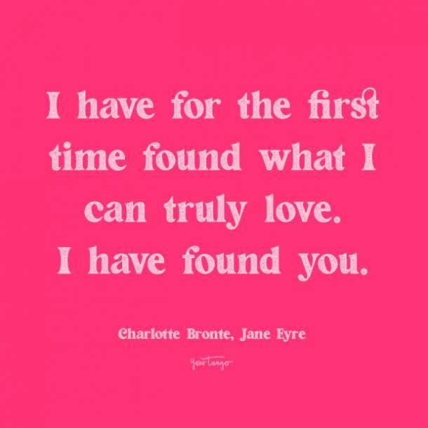 charlotte bronte jane eyre romantic quotes