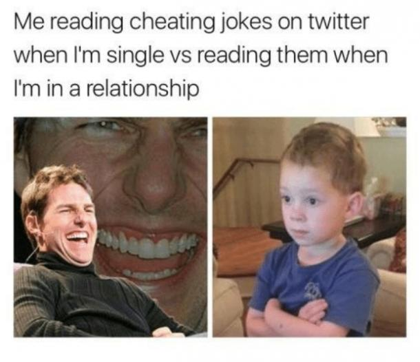 me reading cheating memes