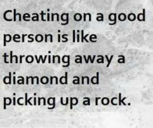 cheating on a good person cheating memes