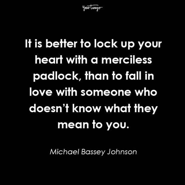 Michael Bassey Johnson cheating quotes
