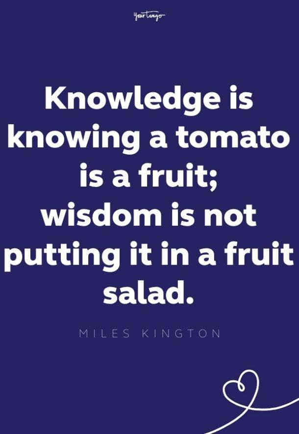 miles kington cheer up quote