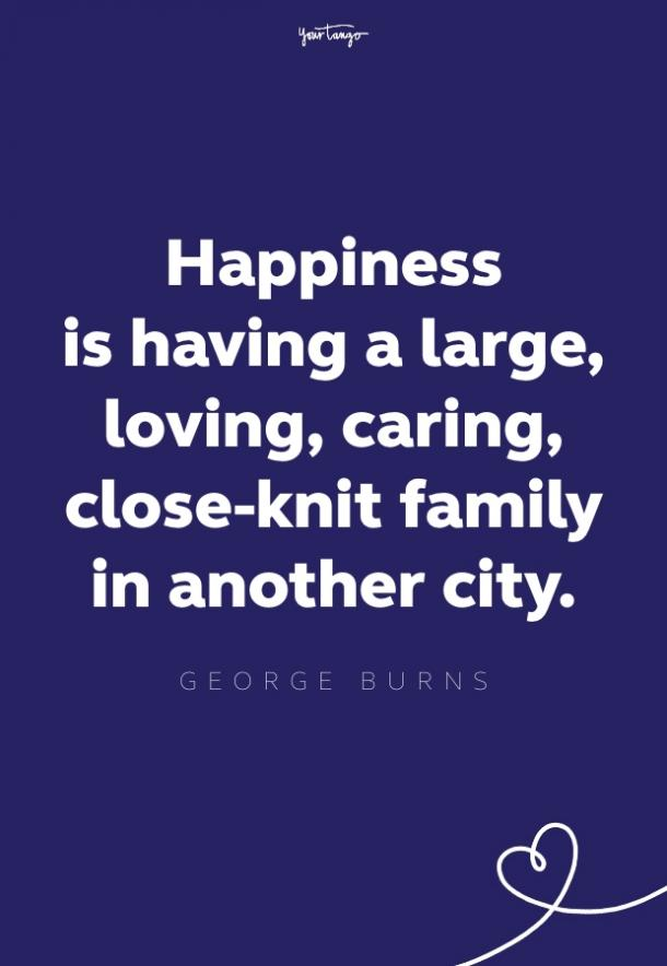 george burns cheer up quote
