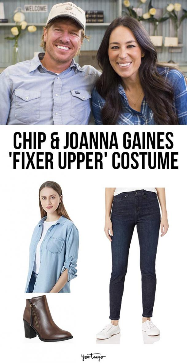 chip and joanna gaines last minute halloween costumes