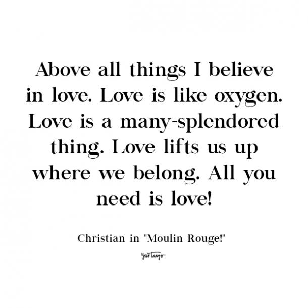 moulin rouge cute love quote