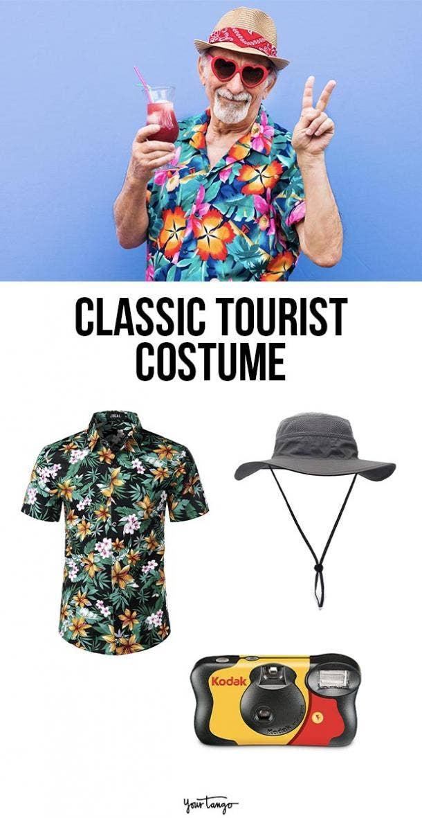 tourist last minute halloween costumes