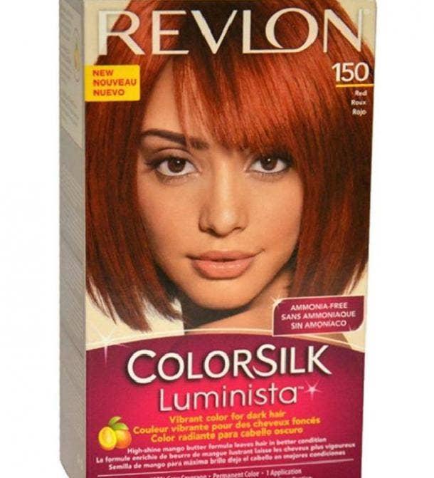ColorSilk Luminista Hair Dye in Red by Revlon