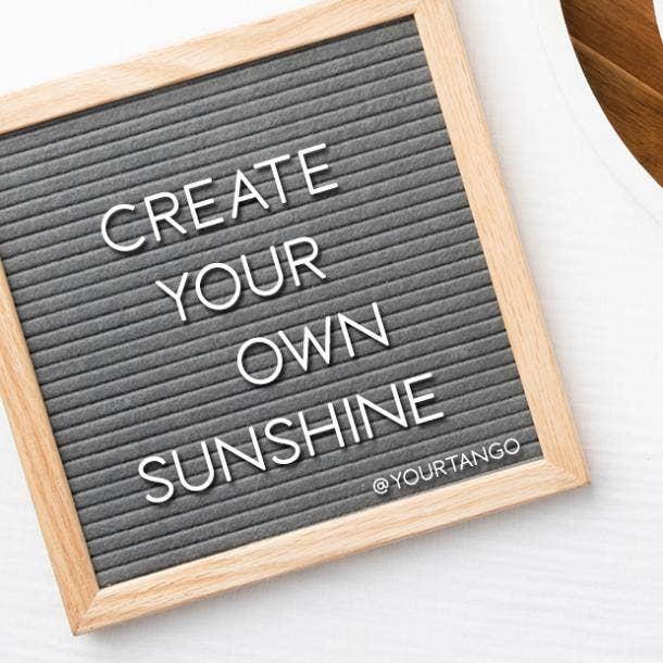 short inspirational quotes Coronavirus Letter Board