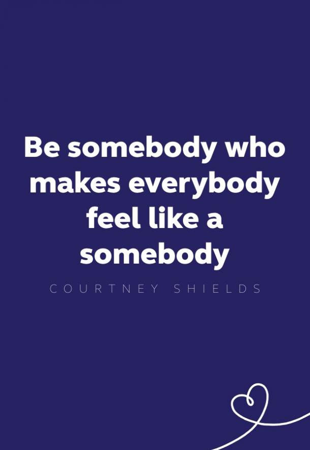 courtney shields kindness quote