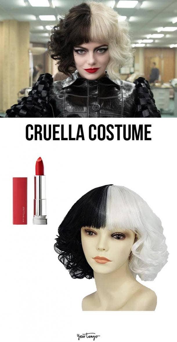 cruella last minute halloween costumes