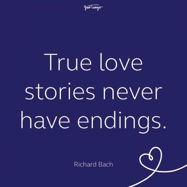 cute love quote by Richard Bach