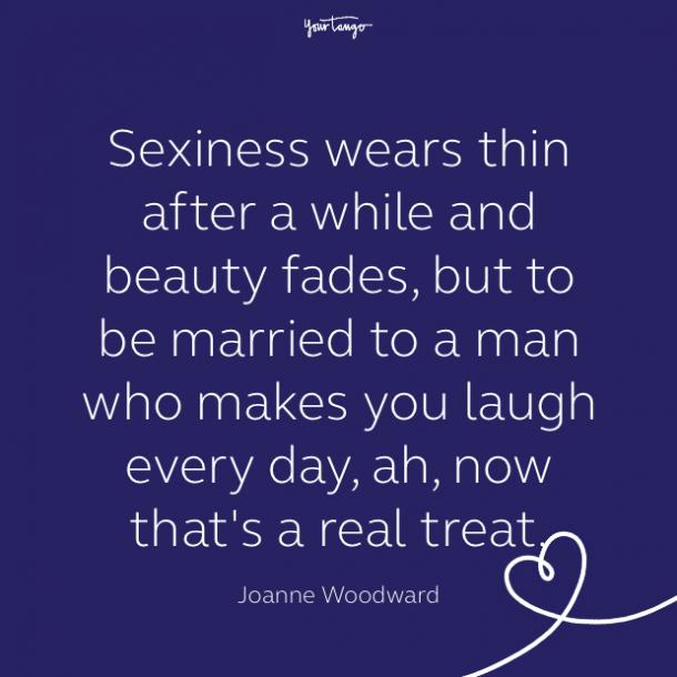 cute love quote by joanne woodward