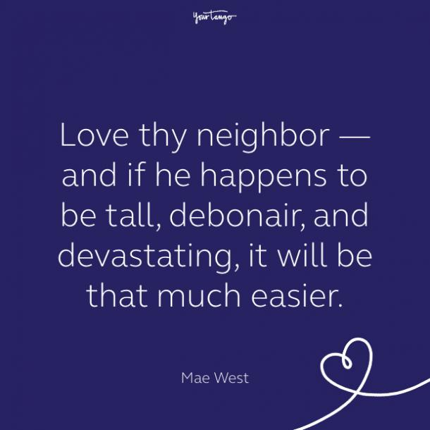 cute love quote by Mae West
