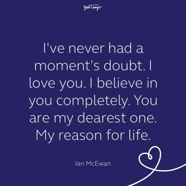 cute love quote by ian mcewan