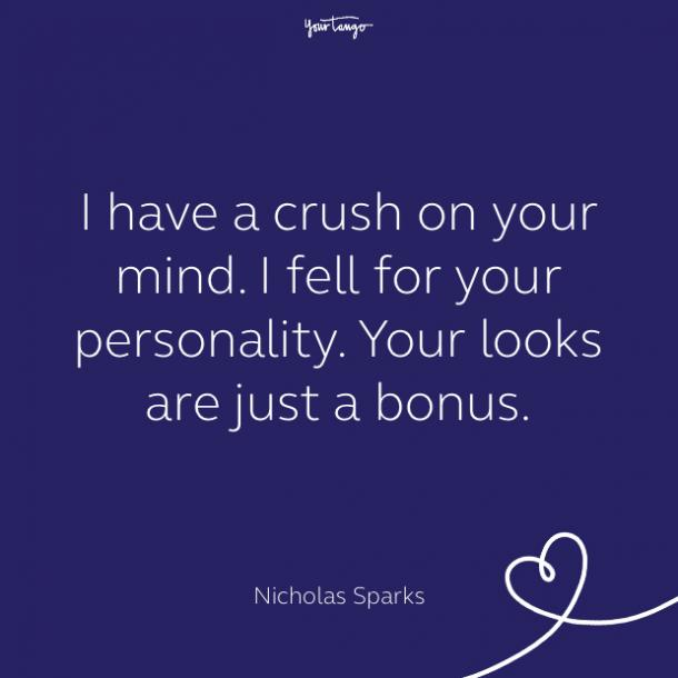 cute love quote by nicholas sparks