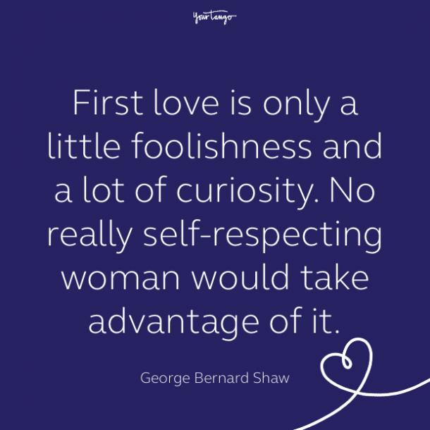 cute love quote by George Bernard Shaw