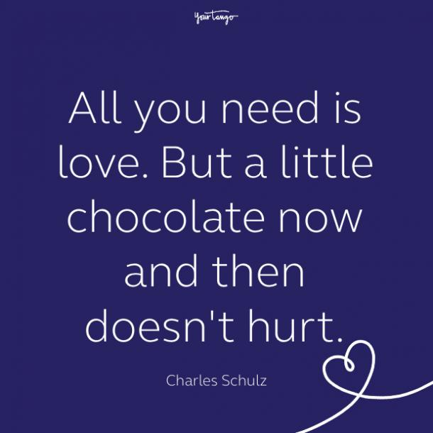 cute love quote by Charles Schulz