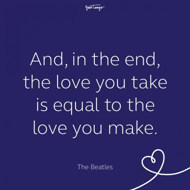 cute love quote by Sir Paul McCartney
