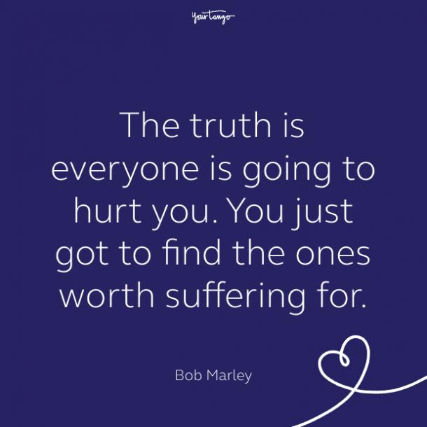 cute love quote by bob marley
